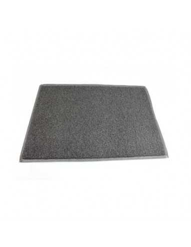 Zerbino antisporco Floortex Doortex TwisterMat 90x150 cm grigio tempesta FC490150TWISG